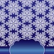 Seamless pattern with snowflakes of lace — Stock Photo #36482107