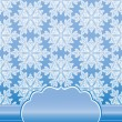 Seamless pattern with snowflakes of lace — Stock Photo #36482141