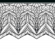 Stock Vector: Seamless lace pattern