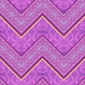 Ethnic zigzag pattern — Stock Vector