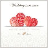 Wedding invitation — 图库矢量图片