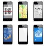 Vector smartphone concept — Stock Vector