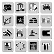 Vector set of banking icons — Stock Vector