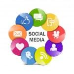 Vector social media concept — Stock Vector #28567403