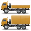 Vector trucks set 1 — Stock Vector #28568099
