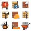 Vector Construction Work Icons — Stock Vector #30100295