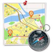 Vector Travel Concept Set 2 — Stock Vector