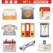 Vector Business Icons Set 3 — Stock Vector
