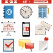 Vector Business Icons Set 4 — Stock Vector #31633931