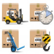 Vector Shipment Icons Set 12 — Stock Vector #32380641