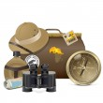 Vector Safari Accessories Concept — Stock Vector #42343283