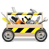 Vector Mobile Toolbox — Stock Vector