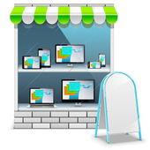 Vector Computer Store — Vecteur