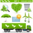 Vector Ecology Icons Set 3 — Stock Vector #45115151