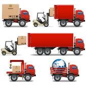 Vector Shipment Icons Set 34 — Stock Vector