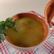 Puree soup — Stock Photo