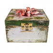 Box with flowers, decoupage, handmade — Zdjęcie stockowe #35641535