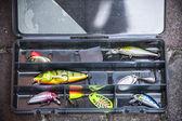 Equipamento de pesca — Foto Stock