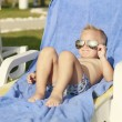 Stock Photo: Boy in sunglasses