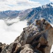 Stock Photo: Beautiful and majestic mountains of Trans-Ili Alatau