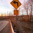 Road signs directions — Stock Photo #32527341