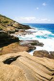 Seascape with rocks — Stock Photo