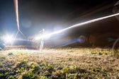 Night racing — Stock Photo