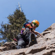 Stock Photo: Inter climber