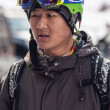 Skiing and snowboarding — 图库照片 #37804309