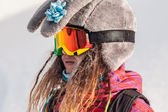 スキーやスノーボード — ストック写真