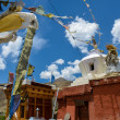 Stock Photo: Buddhist monasteries