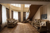 Rich and luxurious interior penthouse — Zdjęcie stockowe