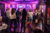 Party - disco dancing — Stock Photo
