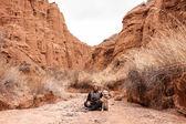 Beautiful sandy canyon — Stock Photo
