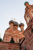 Architectural details of the Russian capital — Stock Photo