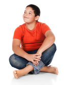 Young caucasian boy — Stock Photo