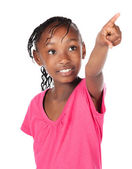 Cute african girl — Stock Photo