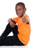 Cute african boy — Stock Photo