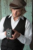 Homem bonito caucasiano — Foto Stock