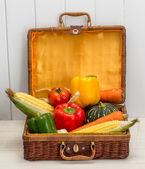 Legumes frutas mistas — Foto Stock