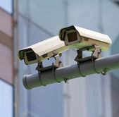 Cctv on the road — Stock Photo