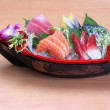 Japanese sashimi boat set — Stock Photo #29730619