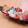 Japanese sashimi boat set — Stock Photo #29730641
