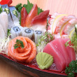 Japanese sashimi boat set — Stock Photo #29730651