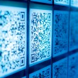 Qr code science and technology wallpaper background — Stock Photo #32137115