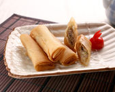 Chinese spring rolls — Stock Photo