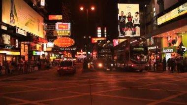 Time Lapse Hong Kong City — Stock Video
