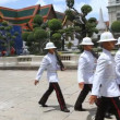 Changing the Guard at Grand Palace. — Stock Video