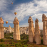 Baloons Cappadocia — Stock Photo #30374633