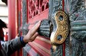 男の中国の寺院 — ストック写真